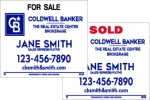 image for Slide in For Sale Sign Double Sided - CBDS