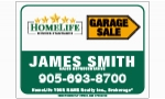 image for Slide in Garage Sale signs - HLGS