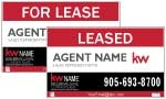 image for Double Sided For Lease/Leased - KW101D