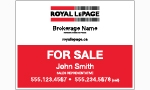 image for Slide in For Sale Sign Single Sided - RLSS1A