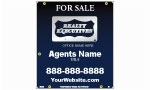 image for For Sale Hanging Style sign Blue Blend - RXB30