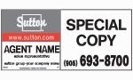 image for Commercial Plywood 4' high x 8' wide sign - SG48