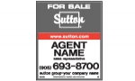image for Slide in For Sale Sign Single Sided - SGSS