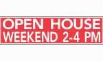 image for Weekend Open House Topper - TW